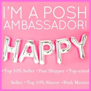 YAY IM A NEW POSH AMBASSADOR!! FILLOW ME @ PARTY!!